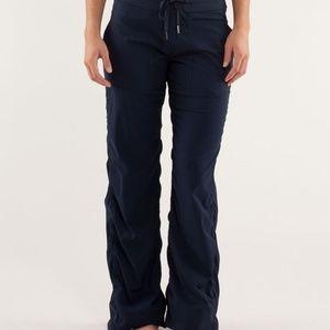 LULULEMON Dance Studio Pants III  Black lined 4
